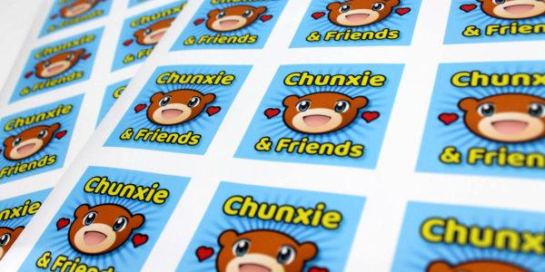 Custom Sticker Sheets - Wacky Print