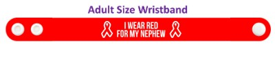 i wear red for my nephew aids hiv awareness aids awareness ribbon red ribbon