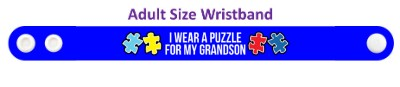 i wear a puzzle for my grandson autism awareness ribbon autism awareness puzzle ribbon