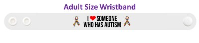 i love someone who has autism autism awareness ribbon autism awareness puzzle ribbon