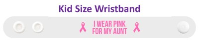 i wear pink for my aunt breast cancer awareness cure hope support awareness ribbons