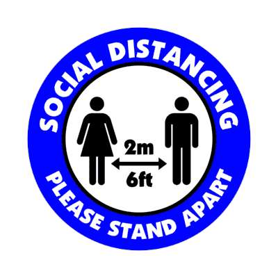 social distance please stand apart 6ft 2m, coronavirus, covid-19, pandemic, corona, disease, illness, safety, warning