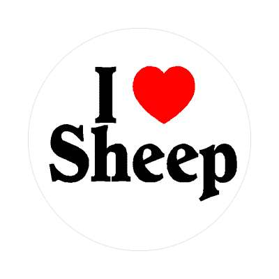 i love sheep sticker farm animals lambs country agriculture baa wool