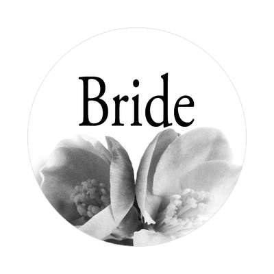 ring wedding marriage bride groom groomsman bridesmaid maid of honor mother of the bride father of the bride best man sticker