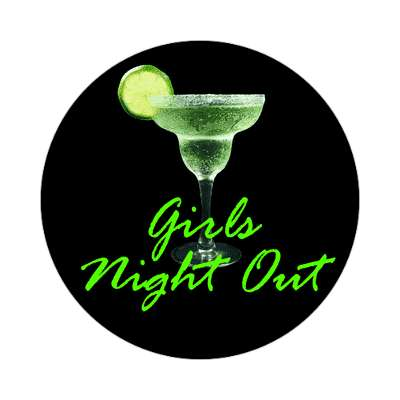 bachelorette party girls night out party sticker