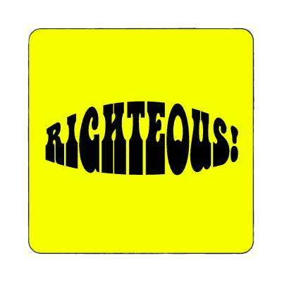 righteous magnet 1960s 60s flower power peace marijuana herb sixties hippies hippy style love truth righteous groovy psychedelic