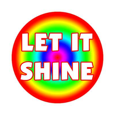 Let it shine sticker Christianity jesus pictures christ lord god religion religious bible biblical jesus church baptism god thanks catholic lutheran non denominational orthodox fundamental evangelical evangelism pentecostal born again