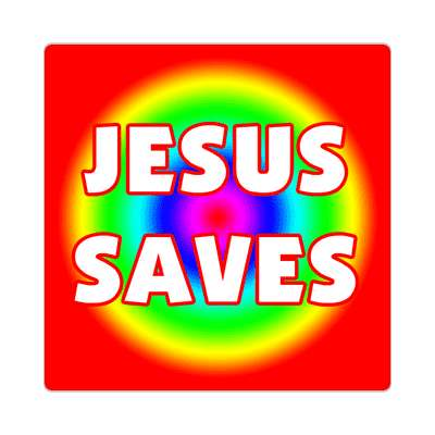 Jesus saves sticker Christianity jesus pictures christ lord god religion religious bible biblical jesus church baptism god thanks catholic lutheran non denominational orthodox fundamental evangelical evangelism pentecostal born again