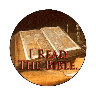 i read the bible magnet Christianity jesus pictures christ lord god religion religious bible biblical jesus church baptism god thanks catholic lutheran non denominational orthodox fundamental evangelical evangelism pentecostal born again