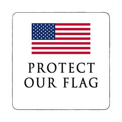 protect our flag magnet red white blue american flag stars and stripes pride president campaign nationalism anthem god bless the usa statue of liberty american flag  america pride symbol new york city troops