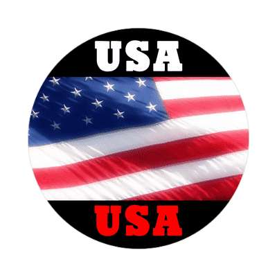 usa flag sticker red white blue american flag stars and stripes pride president campaign nationalism anthem god bless the usa statue of liberty american flag  america pride symbol new york city troops