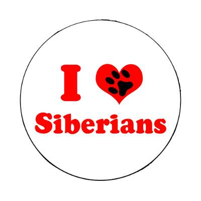 i heart siberians magnet cute cuddly cute kitties cuddly breeds pictures pets little funny cat pic kitten cat kitty toy adorable animal animals cartoon cartoons kids kid child children art artwork