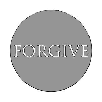 forgive one word magnet