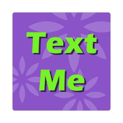 text me two words sticker
