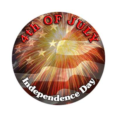 fourth of july holiday sticker 4th american holiday fireworks friends fun independence day