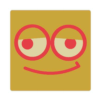 smiley smile funny classic smilies fun kids sticker