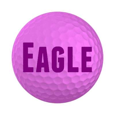 eagle sticker sports golf birdie hole in one fun recreational activities