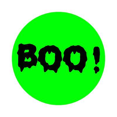 boo sticker halloween holidays funny sayings pumpkin bats witch monster frankenstein vampire dracula scary