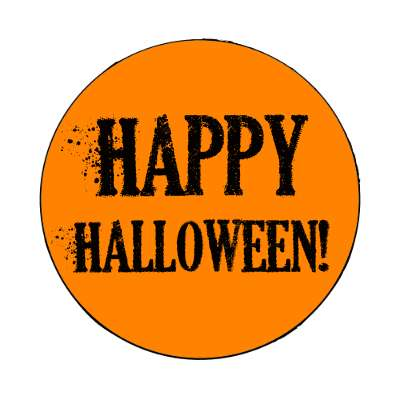 happy magnet halloween holidays funny sayings pumpkin bats witch monster frankenstein vampire dracula scary