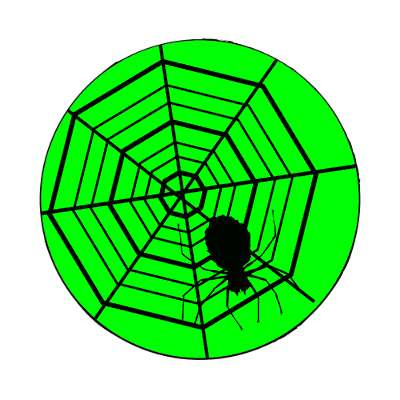 spiders web magnet halloween holidays funny sayings pumpkin bats witch monster frankenstein vampire dracula scary