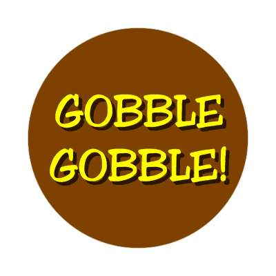 give thanks thanksgiving sticker holidays turkey gobble fun family food dinner thanks giving