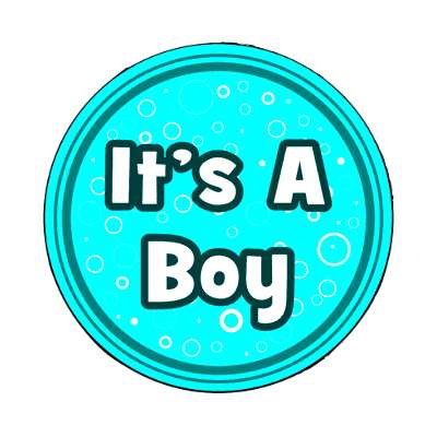 its a boy magnet occasions new baby girl boy child new parent