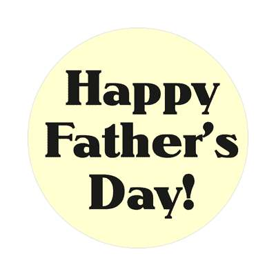 happy fathers day sticker dad holiday daddy father