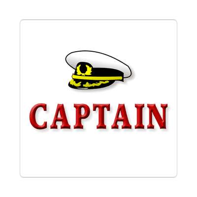 captain sailboat im on a boat sticker sports boating water recreation