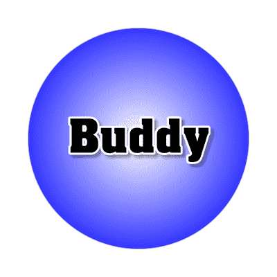 buddy common names male custom name sticker