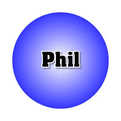 phi common names male custom name sticker