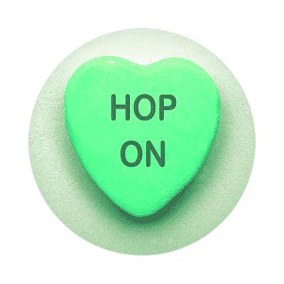 hop on valentines day love candy heart sticker funny sayings hilarious