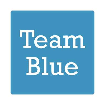 team blue sticker occasions new baby girl boy child new parent