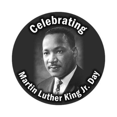 Martin Luther King Jr Day mlk jr human rights sticker civil rights