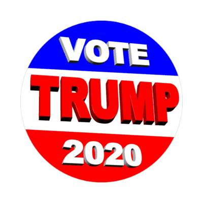 vote trump sticker modern political politics 2020