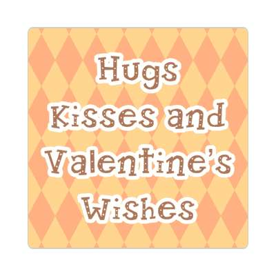 hugs and kisses and valentines wishes vday valentines day holiday sticker love heart romance