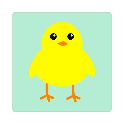 easter chick happy easter sticker easter bunny holiday bunny rabbit egg sunday jesus resurrection