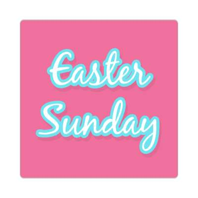 Easter Sunday happy easter sticker easter bunny holiday bunny rabbit egg sunday jesus resurrection