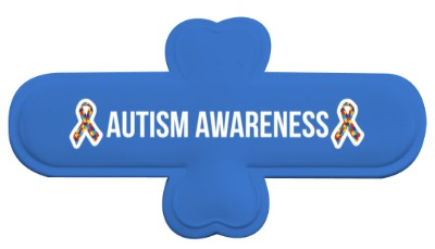 autism awareness puzzle awareness ribbon blue phone stand