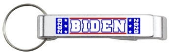 biden 2020 silver bottle opener