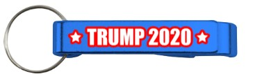 blue trump 2020 bottle opener