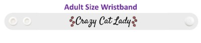crazy cat lady classy cursive paw prints stickers, magnet