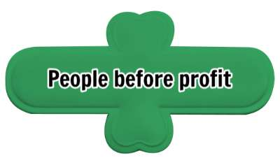 good business people before profit stickers, magnet