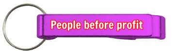 people before profit good business stickers, magnet