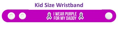ribbons i wear purple for my daddy alzheimers disease awareness ribbons wri