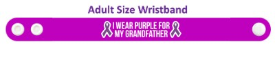 two ribbons i wear purple for my grandfather alzheimers disease awareness w