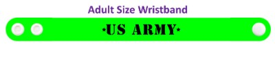 united states army wristband