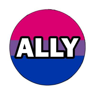 bisexual ally magnet