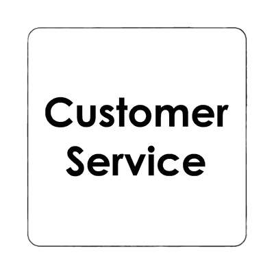customer service magnet