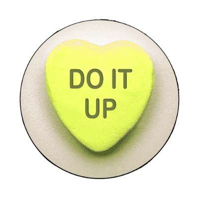 do it up valentines day heart candy magnet