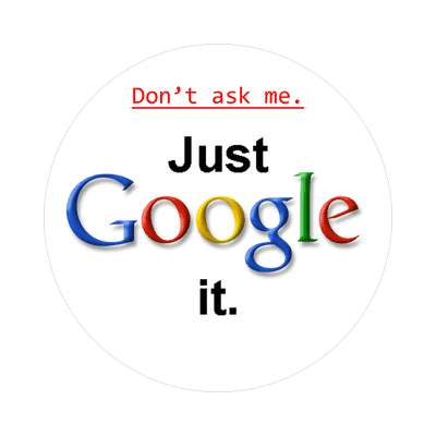 dont ask me just google it sticker